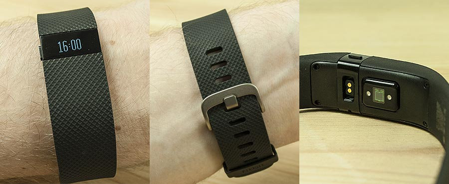 fitbit charge hr test details