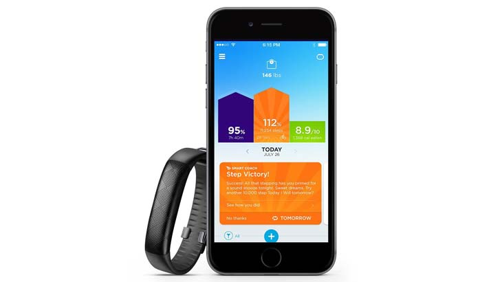 jawbone up2 motivation