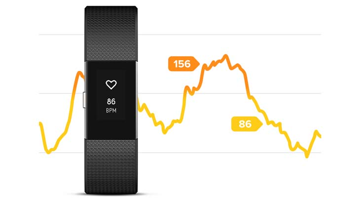 fitbit charge 2 herzfrequenz