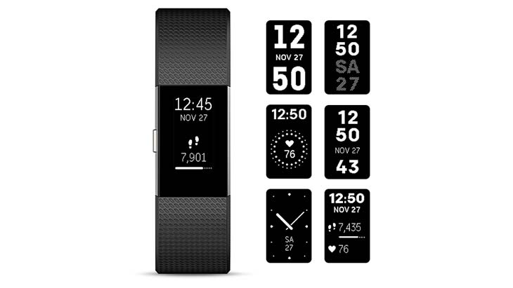 watch faces fitbit charge 2