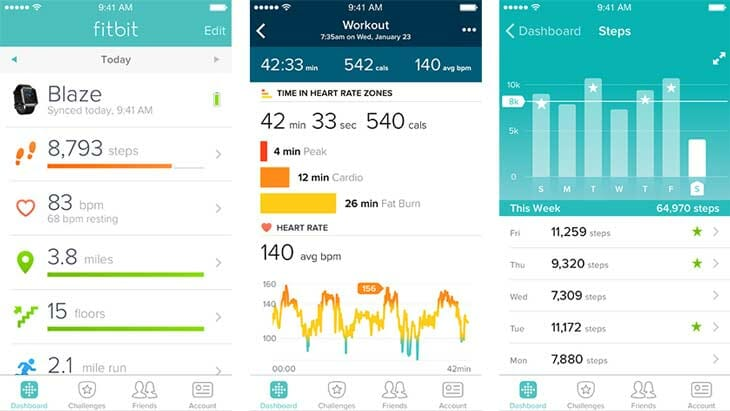 fitbit app preview